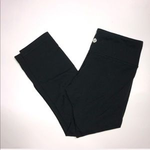 Black Lululemon Leggings size 4
